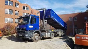 Transport von schüttbaren Gütern