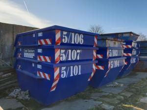 Container in allen Größen für Bauschutt, Aushub, Grünschnitt, Beton, Holz
